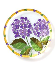 Take a look at this Hydrangea Plate by DEMDACO on #zulily today!