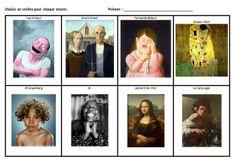 Le Journal de Chrys: Mon projet SENTIMENT à l'école maternelleavec des oeuvres d'art