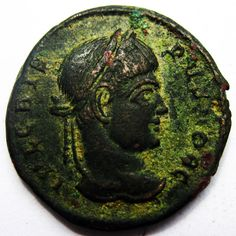 RARE CRISPUS caesar AE Follis of Siscia Roman, Coins, Bronze, Personalized Items, Antiques, Ebay, Antiquities, Antique, Rooms