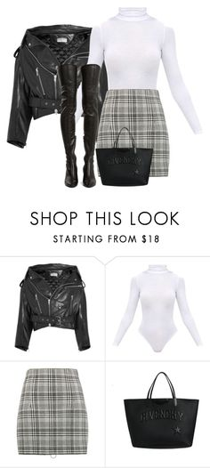 """""""Untitled #767"""" by ahmonie ❤ liked on Polyvore featuring Balenciaga, BasicGrey, Off-White, Givenchy and Yves Saint Laurent"""