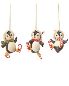 Set of Three Skating Penguin Ornaments  is on Rue. Shop it now.