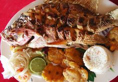 The food I would eat when I got to Nicaragua. Mmm, the I want to eat and makes your mouth water.