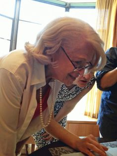 Edith Windsor finds out she won - DOMA is unconstitutional and she'll receive the tax benefits of a proper spouse.