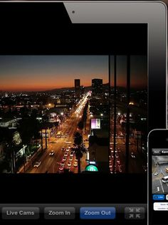 World Live Cams Pro, an app which allows you to access Web Cams from around the world on your iPad, iPhone and iPod