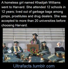 """Only a few mentors and Harvard officials know her background. She never wanted other students to know her secret – not until her plane left for the East Coast hours after her Friday evening graduation.  """"I was so proud of being smart I never wanted people to say, 'You got the easy way out because you're homeless,' """" she said. """"I never saw it as an excuse."""""""