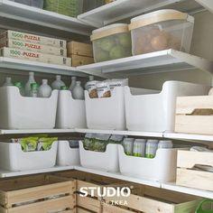 Opgeruimd staat #IKEA. #trapkast #IKEAnl