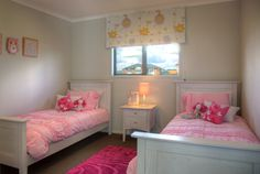 One of the bedrooms ready for the kids