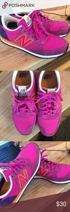 New Balance 420 420 New Balance  Classic suede/mesh upper Size 7 B women's New Balance Shoes Sneakers