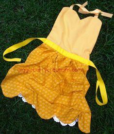 Giggleberry Creations!: Princess Dress-Up Aprons!