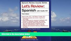 BEST PDF  Let s Review Spanish with Audio CD (Barron s Review Course) [DOWNLOAD] ONLINE - http://homedesign123.top/best-pdf-let-s-review-spanish-with-audio-cd-barron-s-review-course-download-online/