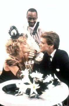 ONCE BITTEN, Lauren Hutton, Cleavon Little, Jim Carrey, 1985 | Essential Film Stars, Jim Carrey http://gay-themed-films.com/film-stars-jim-carrey/