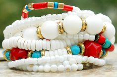 Custom Native American Style Charm Bracelet...