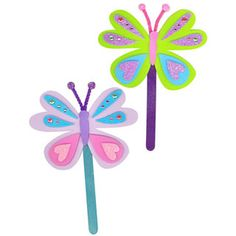 Foamies® Easter Activity Bucket - Butterfly Bookmarks - 6 inch