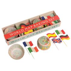 Cupcakeset Welt bei www.party-princess.de