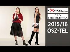 Extasy és Via Nicoletta 2015/16 őszi-téli kollekció a Trend2-ben