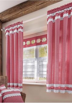10 Alive picture of living room curtains modern Otto curtain modern short with long curtains small catalog trend otto for ideas balcony contour curled r Cottage Curtains, Cafe Curtains, Diy Curtains, Kitchen Curtains, Long Curtains, Curtains Living, Inexpensive Patio, Types Of Curtains, Curtain Types
