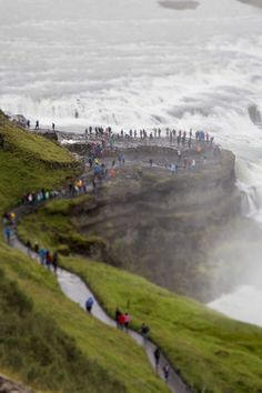 Gullfoss, Iceland - Little tiny crowd by Miguel Bueno - Photo 167613973 - 500px