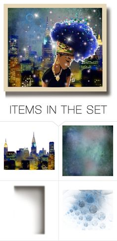 """""""Wish you were here - Postcard"""" by beeblecat ❤ liked on Polyvore featuring art"""
