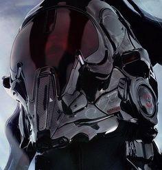 JOJO POST DIGI: HELMET, Cyberpunk, Android, Robot, Futuristic, Sci-Fi, Military, Cyborg, Cabuto, Clothing, Fashion, Future, Armor, Mask.