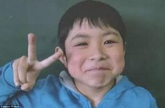 Seven-year-old Yamato  told rescuers who found him he was hungry before wolfing down rice ...