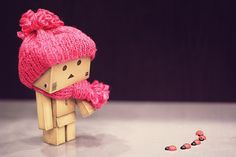 Pink Photography Name cute danbo photography