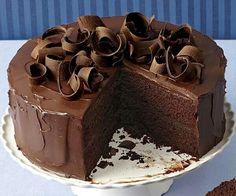 Chocolate ganash cake