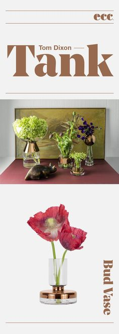All products exclusive to ECC in New Zealand and authentic design classics that carry full manufacturers guarantees Tom Dixon, Bud Vases, Restoration, Interior Decorating, Gift Ideas, Plants, Flower Vases, Plant, Decor