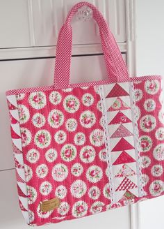 new pattern - little geese satchel - Pretty by Hand -