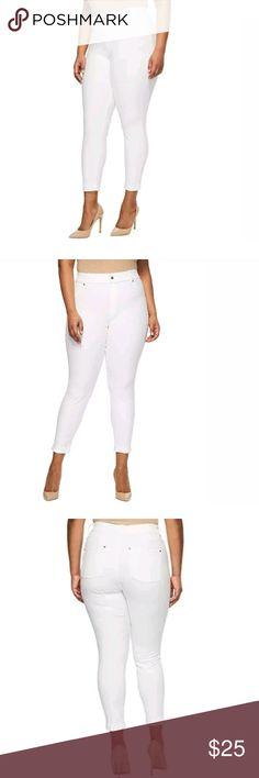 HUE Original Jeans Denim Legging ROSE PINK Size M XS GOLD XS
