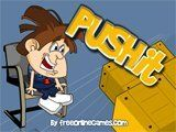 Push It is a fun Sokoban clone with nice graphics and challenging puzzles. The object of the game is to push the boxes into the designated colored areas.