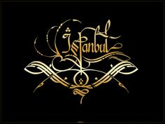 istanbul calligraphy by silent-07 on DeviantArt