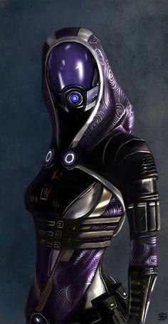 Tali'Zorah - Mass Effect by TheSig86 on DeviantArt