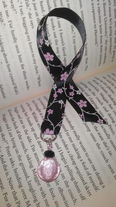 Ribbon bookmark, handmade