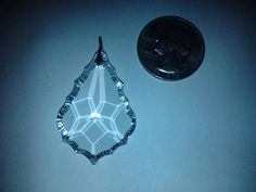 Gorgeous Swarovski Crystal Pendant by EphemerasLanding on Etsy, $20.00