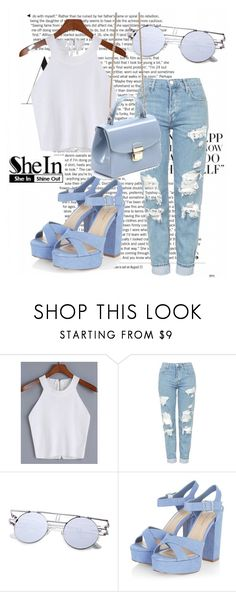 """""""shein 9"""" by leagoo ❤ liked on Polyvore featuring Topshop"""