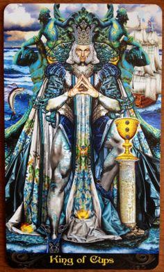 Polaroides da Alma: Rei de Copas: protetor, romântico e compassivo