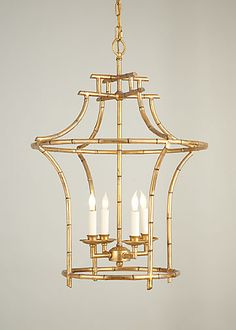 Bamboo Chandelier~ LOVE!!!