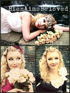 Baby Flower Headbands fabric flowers