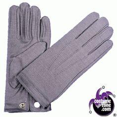 Morris Costumes Men's Accessories & Makeup Nylon Snap Gloves Grey One Size. Flapper Accessories, Costume Accessories, 1920 Men, Suit Guide, Fit Deck, Steampunk Top Hat, Do Men, 20s Fashion, Mens Gloves