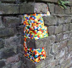 Jan Vormann restauró edificios en 29 ciudades con LEGOS , Colonia, Alemania