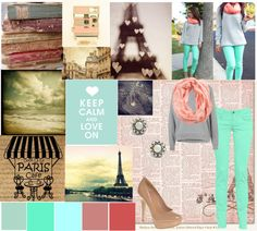 """""""Paris is Always a Good Idea"""" by aylamisbah ❤ liked on Polyvore"""