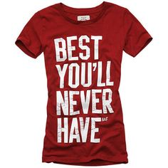 Abercrombie & Fitch > Women > Humor Tees