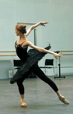 rehearsing black swan . . . just look at those arms and hands . . .