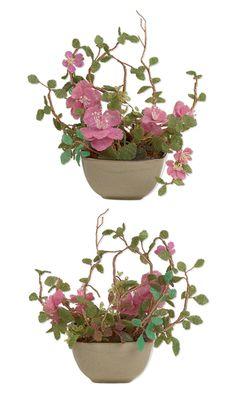Sweet Pink Beaded Plant    -- Designer --    Gui-Ja Yang