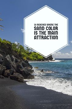 Have you ever been to a black-sand beach?