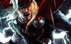 Thor Dark World promotional artwork