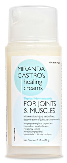 This all natural joint cream goes Beyond Arnica! Lasting relief from joints and muscle pains in a bottle. No parabens - no junk !