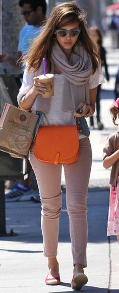 The orange bag is just amazing <3