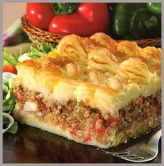 to ] Great to own a Ray-Ban sunglasses as summer gift.Recetas Simples: Pastel de carne y papas Argentine Recipes, Chilean Recipes, Mexican Food Recipes, Beef Recipes, Cooking Recipes, Healthy Recipes, Ethnic Recipes, Argentina Food, Venezuelan Food