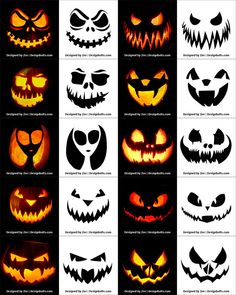 Today we are sharing Free Printable Halloween Pumpkin Carving Stencils, Patterns, Designs, Faces & Ideas Scary Pumpkin Carving, Halloween Pumpkin Carving Stencils, Halloween Pumpkin Designs, Scary Halloween Pumpkins, Amazing Pumpkin Carving, Pumpkin Designs Carved, Halloween Patterns, Pumpkin Template, Pumpkin Carving Templates